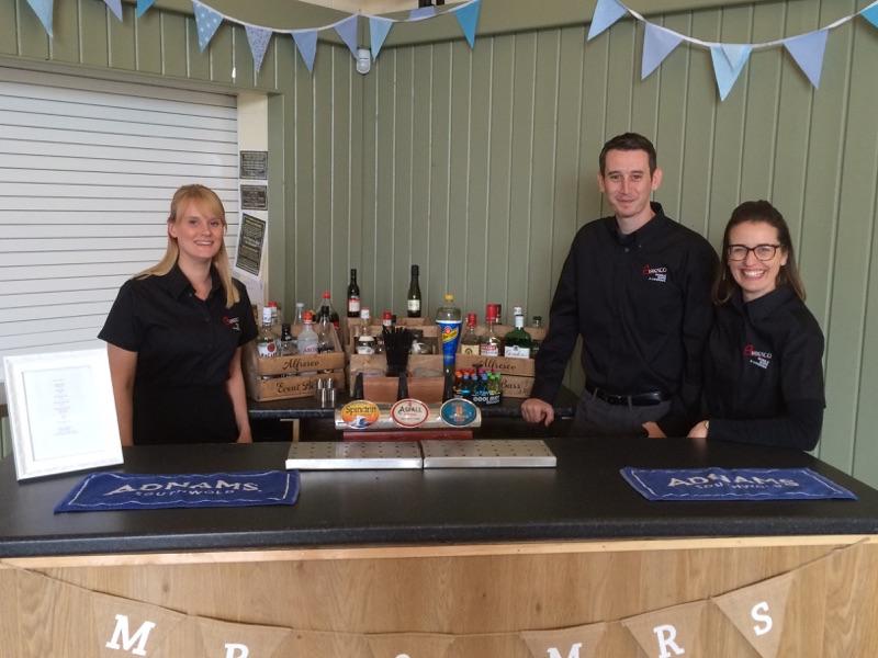 Alfresco Mobile Event Bar Staff